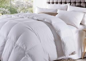 China Comfortable Hotel Bedding Duvet Microfiber And Woven Label 50% Cotton on sale