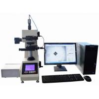 Software Control Half Automatic Digital Vickers Hardness Tester , Electronic Hardness Tester