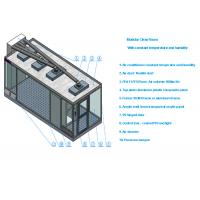 Class 100 Sandwich Panel Clean Room With Air conditioner and 99.99% HEPA filter