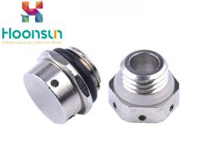 China Nylon Air Breather Valve Nickel Plated Watertight Explosion Proof on sale