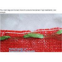 China 40x60cm yellow raschel mesh onion packing bag,Hot sale PE raschel mesh bag for potato,raschel net bag & pp raschel mesh on sale