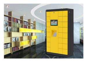 China OEM / ODM Smart Electronic Door Security Locker With Multi Language UI And Remote Control System on sale