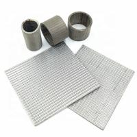 China Heat Resistant SS Sintered Wire Mesh Filter Screen With High Mechanical Strength on sale