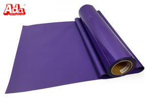 Quality Easy cutting easy weed sticky basketball 27 ayrds purple PVC heat transfer vinyl for sale