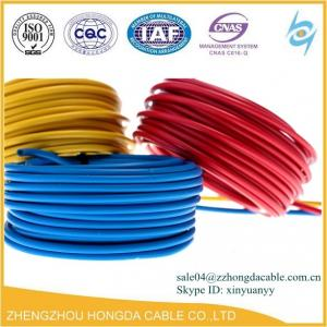 China BV / BVR / ZR-BV / ZR-BVR / NH-BV Pvc insulated building electrical cable wire supplier