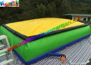 China Giant Inflatable Sports Games Jumping Airbag Stunt Jumper Air Pillow For Skiing on sale