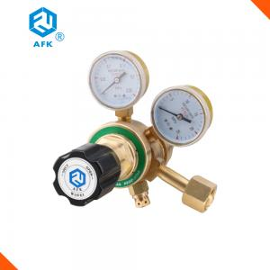 China Single Stage Brass Pressure Regulator Max Inlet Pressure 2.5Mpa R57L Middle Flow on sale