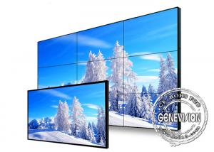 China Narrow Bezel Flexible Digital Signage Video Wall 65 Inch Samsung With Front Maintenance on sale