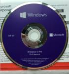 Sealed Microsoft Windows 10 Pro Professional OEM COA 64 Bit DVD Pack