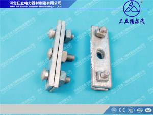 China Manufactured Electric Wire Connect Aluminium Parallel Groove Clamp on sale