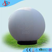 White Human Sized Water Inflatable Balls Transparent For Sports Game