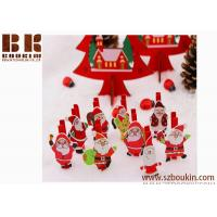 Party Use Christmas Tree Decoration Santa Claus Clip popular new Children snowflake hairpin