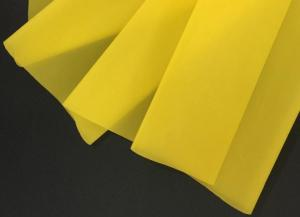 China Yellow 200 Mesh Screen Printing Fabric Mesh , 50m Silk Screen Mesh on sale