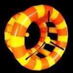 Rouleau gonflable humain WR05 de l'eau avec des poignées de doux pour la piscine, parc aquatique