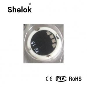 China 18mm Ceramic water oil piezoelectric pressure sensor chip on sale