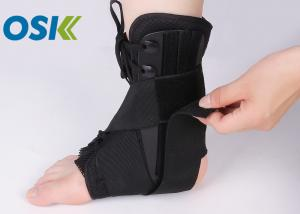 China Nylon Ankle Support Brace Neoprene Cloth Material With Steel Plate Support on sale