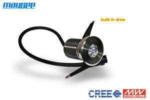 China Professional 1w / 3w / 4w Garden LED Recessed Deck Lights Approved ROHS on sale