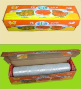 China Best Quality Professional PE Cling Film for food on sale