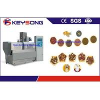 China Automatic Food Processing Machine Stainless Steel For Floating Fish Pellet on sale