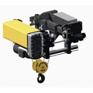 China Industrial 5 T 10 T 20 Ton Electric Wire Rope Hoist For Goods Lifting FEM / DIN Standards on sale