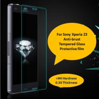 0.33mm ultra thin 9H high transparency Sony Xperia Z3/Z2 tempered glass screen protector