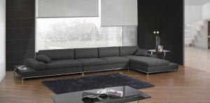 Quality Luxury modern sectional sofas , Corner Modern Fabric Sofas , Italian sofas for sale