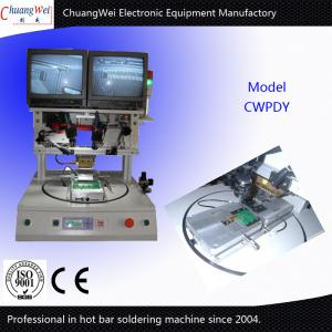 China Flexible Tables Pulse Heating Hot Bar Soldering Machine For Iphone Data Line on sale