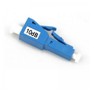 China 10DB LC Optical Attenuator Male To Female With Plastic / Metal Housing on sale