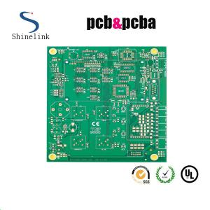 China Lead free Tin double sided pcb board for audio power , 2 Sided PCB on sale