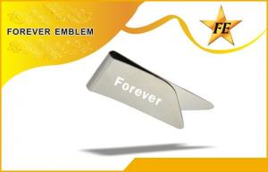 China Stainless Steel Personalized Metal Bookmark With Laser Engraving Logo or letters on sale