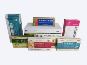 China Color printing paper medicine box on sale