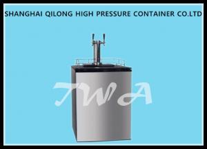 China Fridge Carbon Dioxide Pressure Beer Making Machine / Home Beer Dispenser on sale
