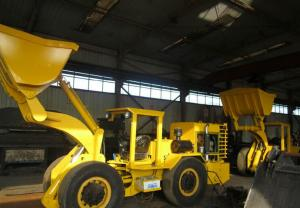China RL-1 Load Haul Dump Underground Mining Trucks with Diesel Engine for Tunnel on sale
