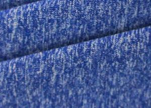 China Melange 4 Way Stretch Denim Fabric 250 Gsm For Yoga / Leggings / Sports Bra on sale