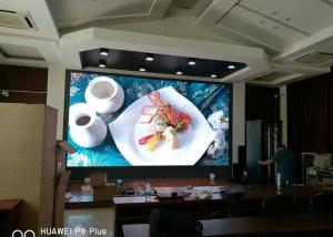 China SMD P3mm led video screen rental for Meeting Room / led perimeter boards High Definition on sale