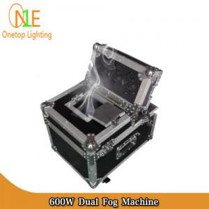 China DJ Light Factory 600w stage disco hazer DMX LCD control fog machine dual haze machine on sale