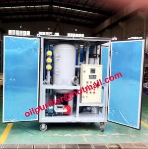 China Módulo dieléctrico de la regeneración del aceite, sistema de reciclaje del aceite del transformador, fuente del purificador de la destilación de vacío del aceite del aislamiento on sale