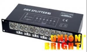 China DMX512 Stage Lighting Equipment DMX Lighting Splitter 6 Channel AC 110V - 220V for Bars Pubs Clubs on sale