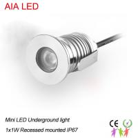China 1X1W cree chip IP67 waterproof  LED underground light/LED inground light/LED path light on sale