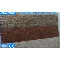 Light Weight Exterior Wall PU Sandwich Panel , Polyurethane Foam Sandwich Panels