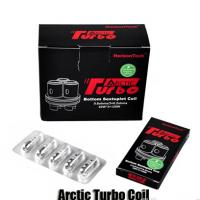 Authentic Horizon Arctic Turbo Tank Coil Head Japanese Organic Cotton Bottom Sextuplet Coils fit 40-120W