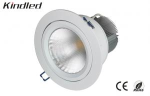 China 1800LM COB Office Recessed Led Downlighter 28.5W , Sharp Ceiling Downlights 60° on sale