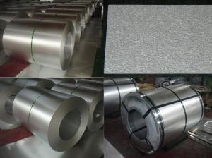 China Commercial Pipe Galvanised Steel Coils , Gi Steel Coil Roll Of Galvanized Sheet Metal on sale