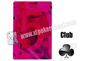 China Plastic Playing Cards Bonus Invisible PlayingCards For Contact Lenses Poker Cheat on sale
