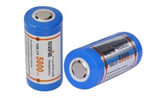 China High capacity 5000mAh lithium ion rechargeable battery for Flashlights on sale