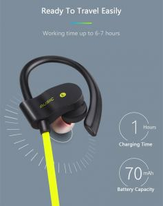 China Headphones Bluetooth Headphone Audifonos Bluetooth Headphones Sports Sweatproof For Running iphone Samsung Android Phone on sale