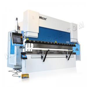 China WE67K bending press brake machine CNC hydraulic sheet metal Delem DA66T Controller press brake on sale