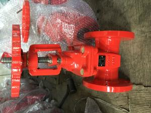 China ANSI   resilient gate valve RS flanged ends on sale