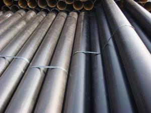 China Q345 / 235 Mild Straight ERW API 5L Steel Pipe for X52 Petroleum Pipeline Pipe on sale