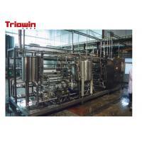 China Mango Pulp Processing Machinery , Mango Juice Making Machine 50 Tons / Day on sale